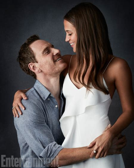 Ex Machina Ending alicia vikander michael fassbender on their relationship