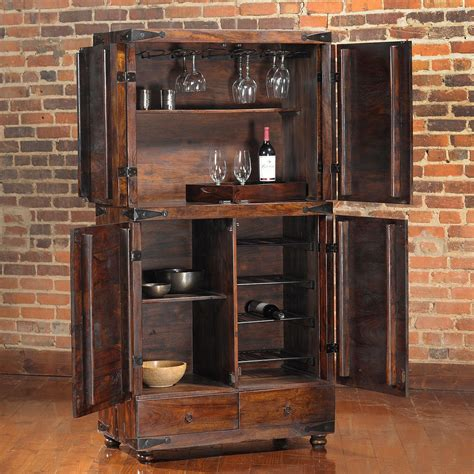 rustic wine cabinets furniture useful and cool mini bar cabinet ideas for your kicthen