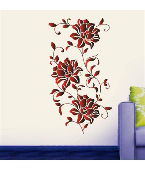 Xl7120 Wallsticker 50x70 stickerskart wall stickers vibrant wine roses 57126