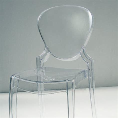 sedia trasparente sedia policarbonato trasparente