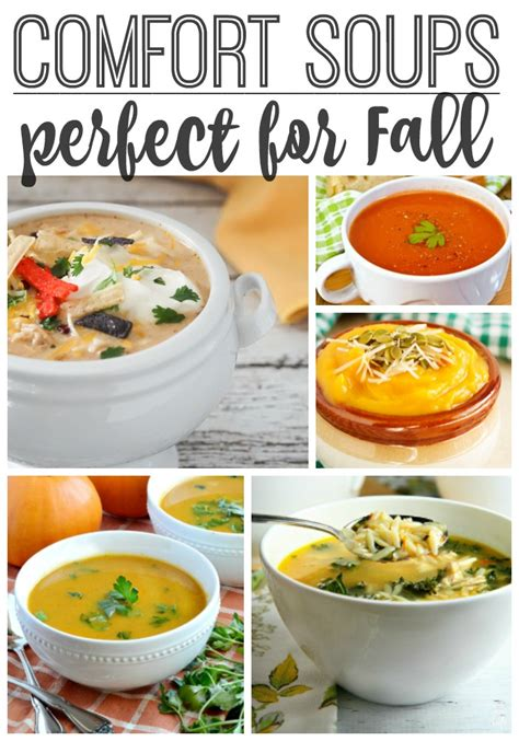comfort soups comfort soups perfect for fall what meegan makes