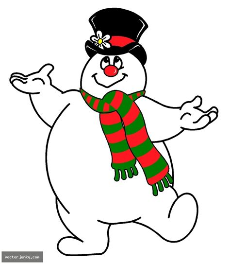 frosty the snowman clipart collection