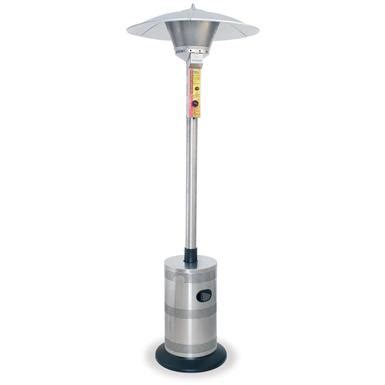 Blue Rhino Patio Heater Parts Blue Rhino 174 Endless Summer Stainless Steel Patio Heater 129661 Pits Patio Heaters At