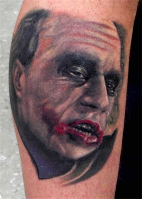 heath ledger tattoo 30 awesome heath ledger joker tattoos
