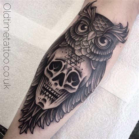 owl skull tattoo designs owl skull design www pixshark images
