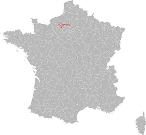 carte de aubevoye situation geographique  population