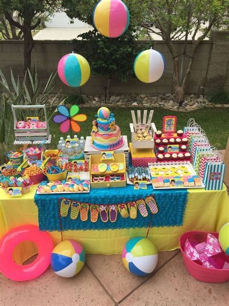 Birthday Ideas For Year Olds In Summer by Best 25 Kid Pool Ideas On