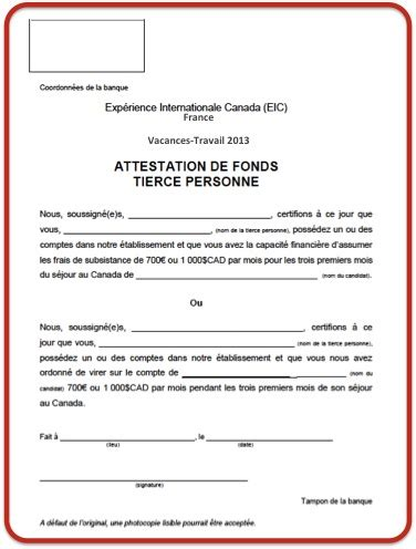 exemple attestation de travail document