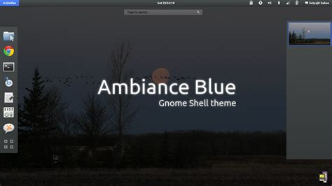 gnome themes repository gnome shell ambiance blue by satya164 on deviantart