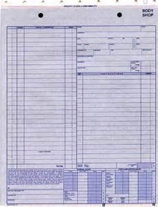 Bodyshop Estimator by Savings Deal Jackets Shop Estimate And Automotive Repair Forms