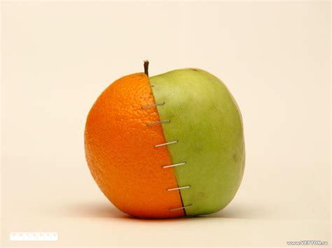 wallpaper apple orange 1280x960 orange and apple desktop pc and mac wallpaper