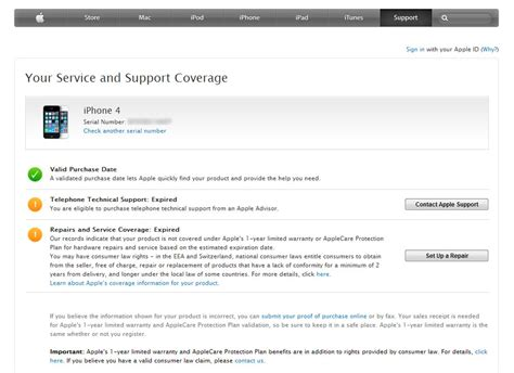 iphone warranty how to check and verify your iphone warranty status