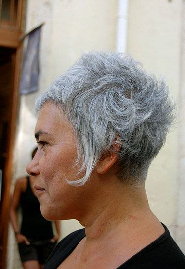 hairstyles grey hair funky best 25 short grey haircuts ideas on pinterest short