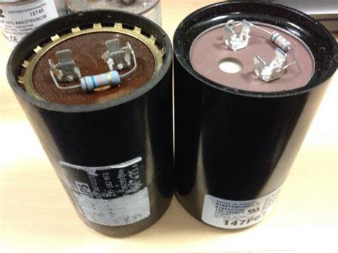 question  replacing capacitor  trane xl
