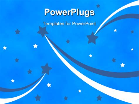 best background 0616 powerpoint template shooting stars