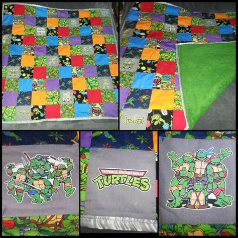 ninja quilt pattern ninja turtle quilt quilts pinterest turtles quilt