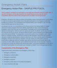 emergency plan template for sports emergency plan template 15 free word excel pdf