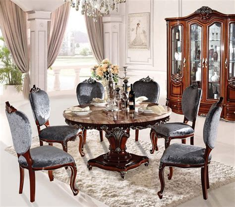 newest home furniture european style classic dining room