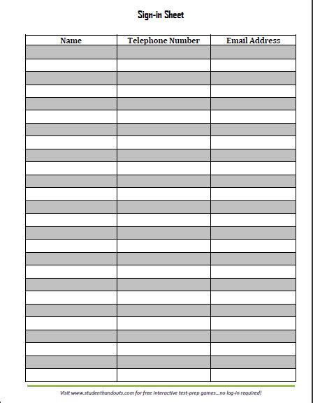 Free Sign In Sheet Template by Search Results For Sign In Sheet Calendar 2015