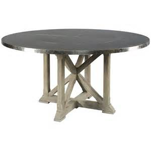 Lillian August Dining Tables Lillian August Dining Table Weathered Oak Belmont Nickel Benjamin Rugs Furniture