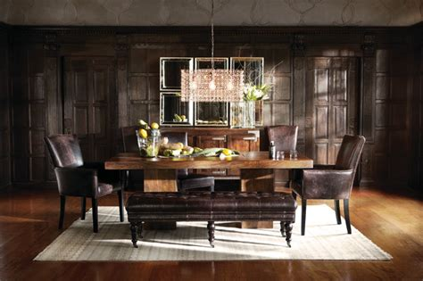arhaus dining room tables tao dining table eclectic dining room cleveland by