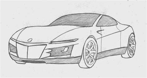 Cars 3 Sketches by Cool Cars Sketch Cool Car Sketches Pictures Car Sketches