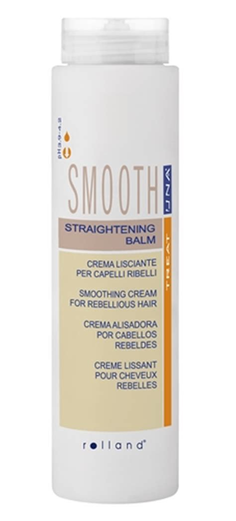 una hair products from italy una natural straightening balm for rebellious frizzy hair