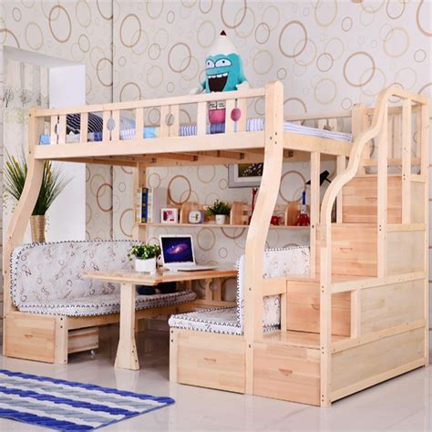 Bunk Bed With Study Table Bed With Study Table Peenmedia