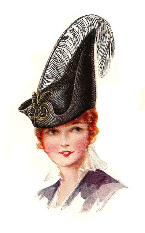 antique images free s vintage dress hat fashion