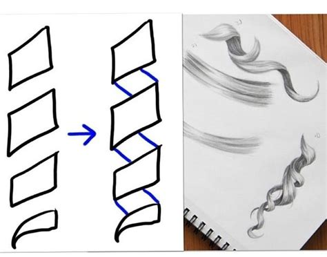 how to draw curly hair 12 steps with pictures wikihow 74 best images about drawing hair on pinterest drawing