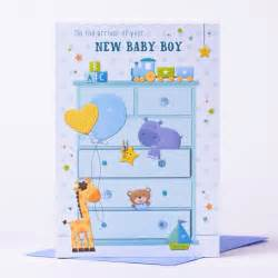 new baby card new baby boy only 59p