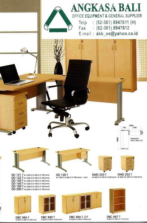 Meja Kerja Terlaris angkasa bali supplies office furniture office equipment in