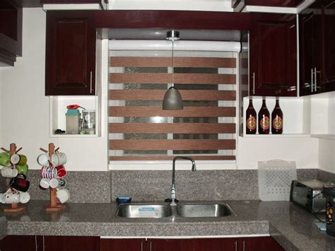 Kitchen Design Philippines Chic Kitchen Design Using Combi Blinds Tower