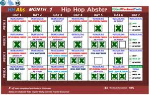 hip hop abs schedule new calendar template site