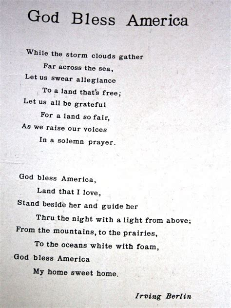 printable lyrics god bless america grizz n dove sharing some finds