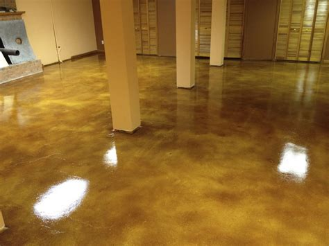 diy stained concrete acid stains water based polymer