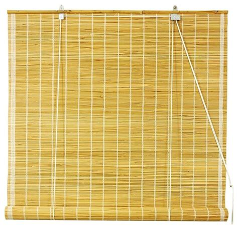 wide shades matchstick roll up blinds in 72 in wide