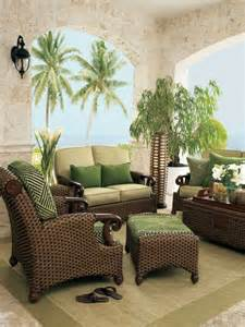 Wicker Living Room Chairs Green Wicker Living Room Furniture Home Decor