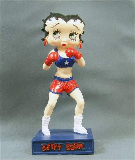 Resin Betty Boop betty boop boxer m6 interactions resin figure