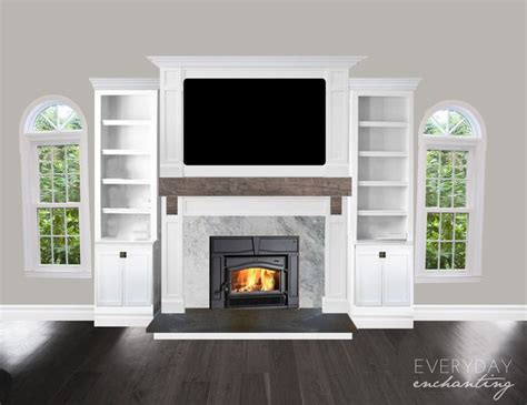 Cape Cod Fireplace by 1000 Images About Fireplace Makeover On