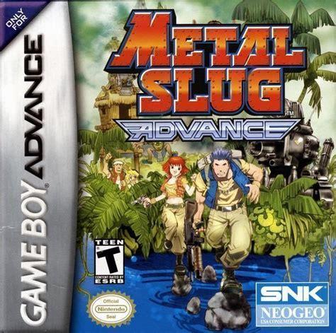 metal slug sega genesis metal slug advance usa rom gt gameboy advance gba