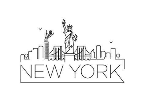 new york skyline animation by k 252 rşat 220 nsal dribbble