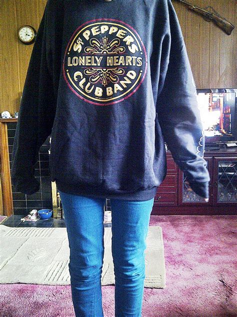 Sweater The Beatles Anime beatles sgt pepper s lonely hearts club band sweatshirt