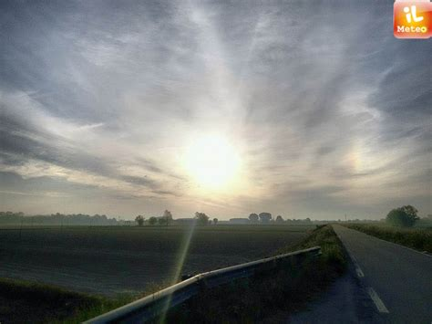 tempo fa a pavia alba e nubi arcobaleno a pavia 187 ilmeteo it