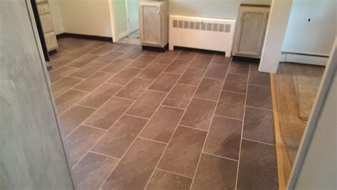 luxury vinyl tile with acrylic grout in saugerties ny