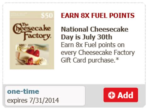 Where Can I Use Cheesecake Factory Gift Cards - safeway cheesecake gift card gas rewards
