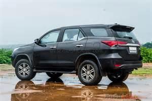 Toyota Fortuner New Toyota Fortuner Vs Ford Endeavour Vs Trailblazer Vs