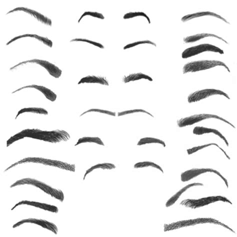 28 photoshop eyebrow brushes free download photoshop