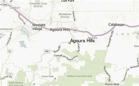 agoura weather station record historical weather