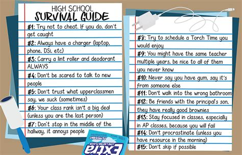 How High Should You Hang A Picture high school survival guide cehs news